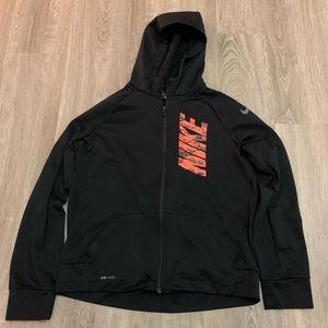 Nike dri fit hoodie boys